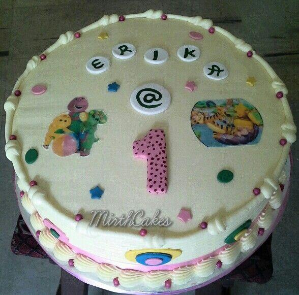 Buttercream 1st year Cake