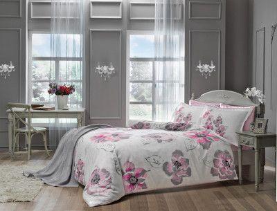 Комплект постельного белья TAC Peony V01 2 х 160 х 220 (8696048443224)