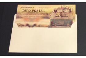 ΠΡΟΣΚΛΗΤΗΡΙΟ ΓΑΜΟΥ CARD POSTAL  (201)
