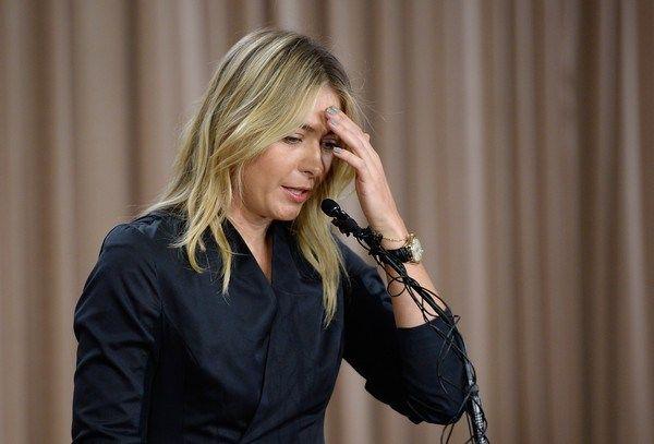 Maria Sharapova anuncia que dio positivo a una prueba de drogas