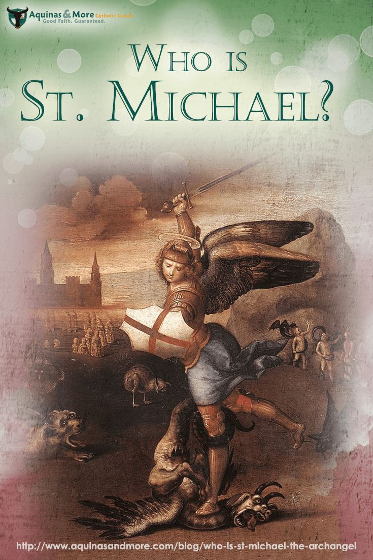 St. Michael's roles in God's divine plan date back before the Incarnation. It was St. Michael who led God's army against Lucifer and the other rebellious fallen angels, St. Michael who guards the Catholic Church and her pope, and St. Michael who, at God's commands will reprise his role against the Antichrist in the End Times.