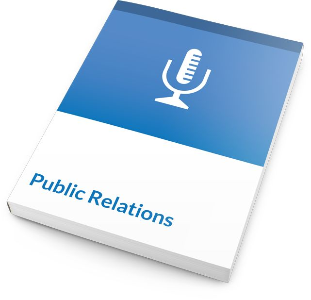 This two-day introductory training course in Public Relations is ideal for students with little to no PR experience, whether they are in entry-level or leadership roles. With your great training skills, they'll learn what they need to know about strategic versus tactical PR, managing the media relationship, selecting the right spokesperson, creating valuable media kits, writing engaging press releases, and even communications during a crisis.  #publicrelations #training #courseware