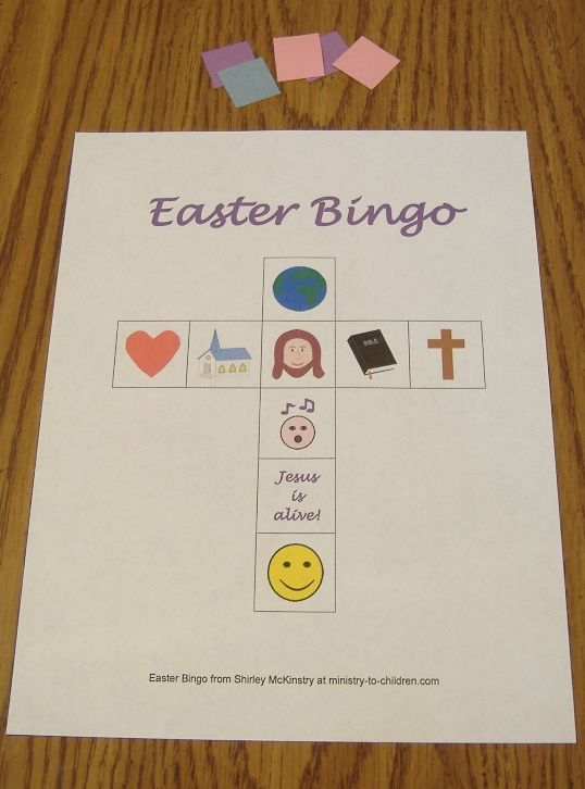 25 best ideas about Easter bingo – Religious Easter Cards to Make