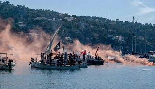 Battle at the beach of Soller