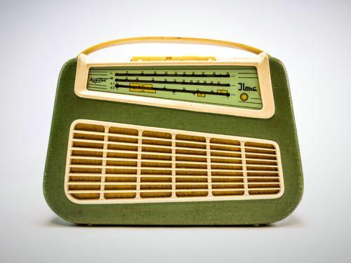 """Radio """"Aukoton Ilona"""" 1960 DDR"""