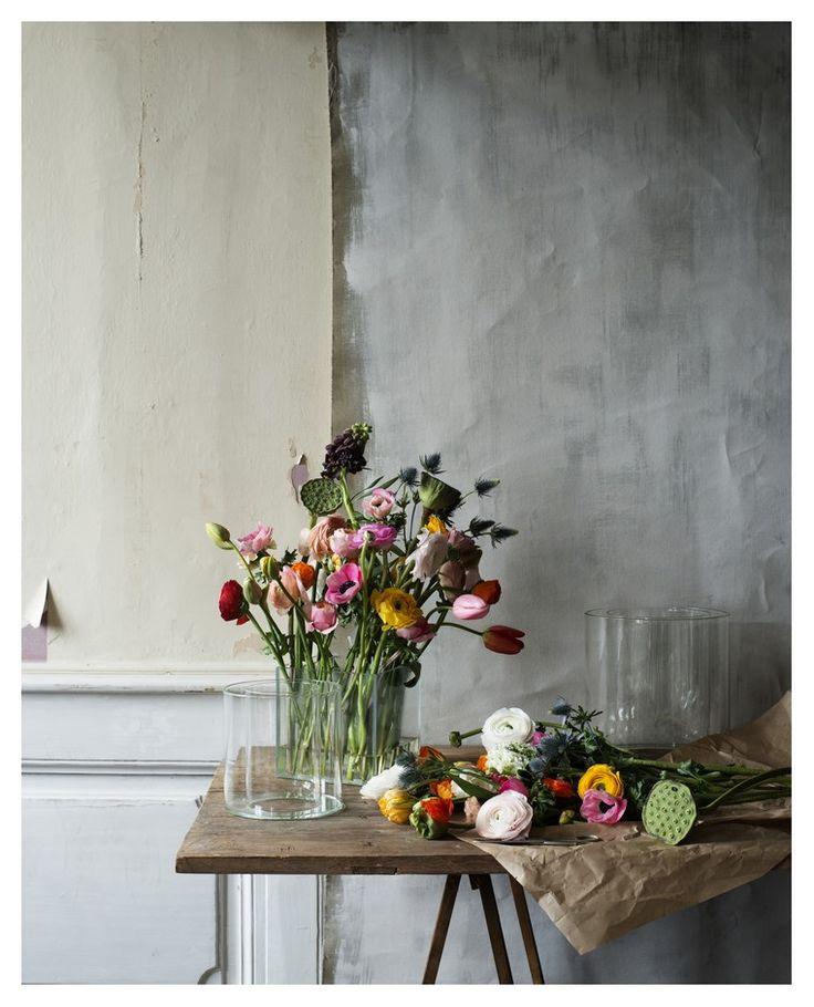 Excel vase flower cube