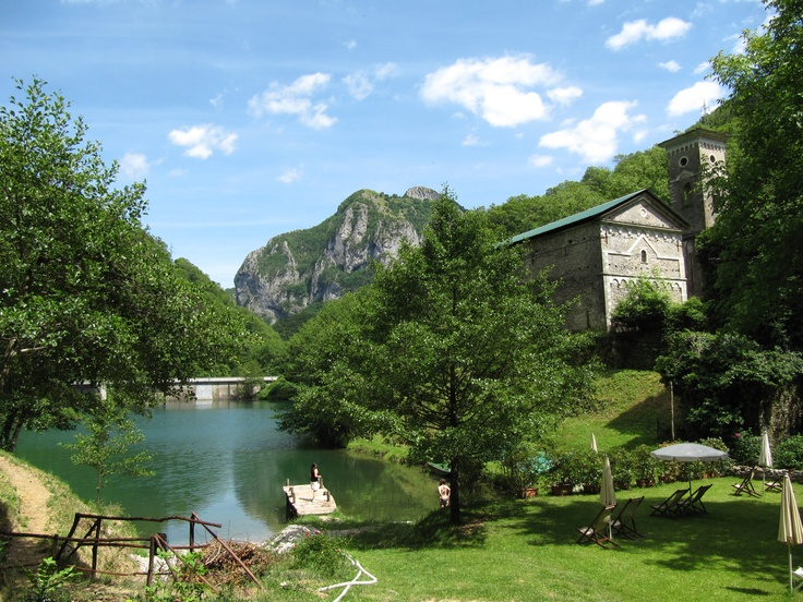 Lago di Isola Santa, Garfagnana