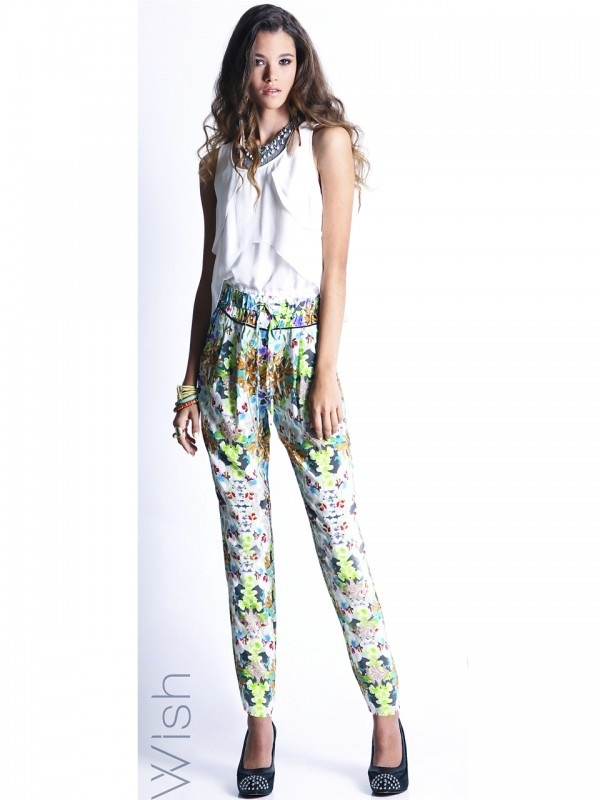Origami Pants by WISH  Now: $139.95 #origami #Japanese inspired #pants