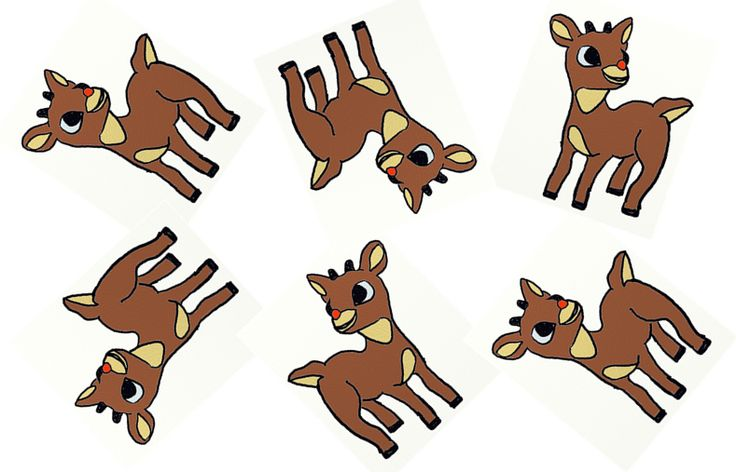 Fun For All: Odd One Out - Rudolph The Red Nosed Reindeer