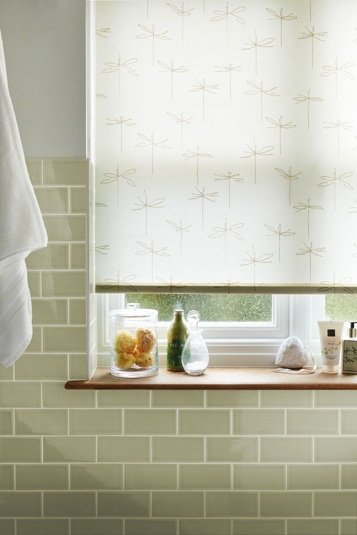 Cheap bathroom blinds uk - This Dragonfly Patterned Blinds Is Ideal For The Bathroom Rollerblinds Patternedblinds Home