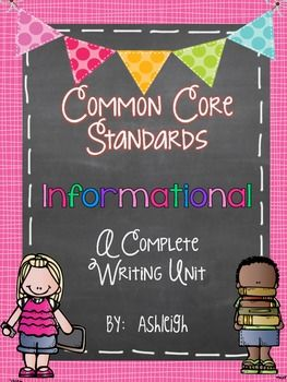 This is a 6-week unit that is broken down to day by day lessons. Each lesson contains directions for a mini lesson, independent work time, and share time. There is also an additional handout or guided practice activity for each of the lessons. You'll also find rubrics, monthly layout, suggested mentor texts, grammar integration with mentor sentences, and more!  $