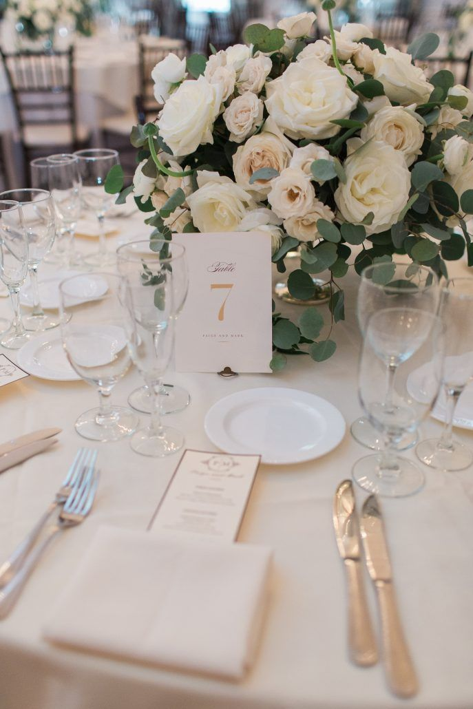 Low Wedding Floral Centerpieces | Wedding Gallery and Inspiration by Bride & Blossom, NYC's Only Luxury Wedding Florist -- Wedding Ideas, Tips and Trends for the Modern, Sophisticated Bride