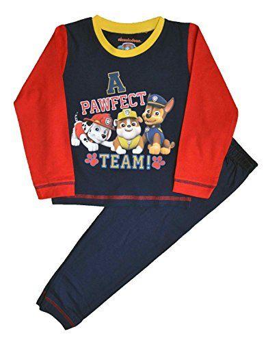 From 5.50 Paw Patrol Snuggle Fit Boys Pjs Pyjamas Size 2-3 Years