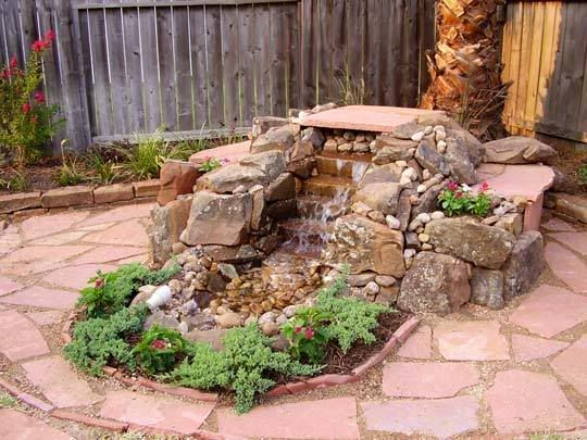 20 best images about pondless waterfalls on pinterest for Backyard pond pump