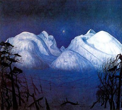 Winter in Rondane - Harald Sohlberg, 1930