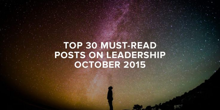 So here's my top 30 curated leadership tweets you might have missed in October2015. 10 Great Prayers For Every Marriage by @RonEdmondson 5 Types Of Girls I Don't Want My Son Dating by BJ Foster v…