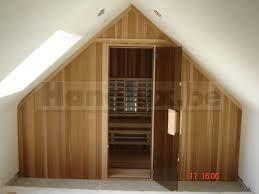 sauna zolder schuin dak - Google zoeken