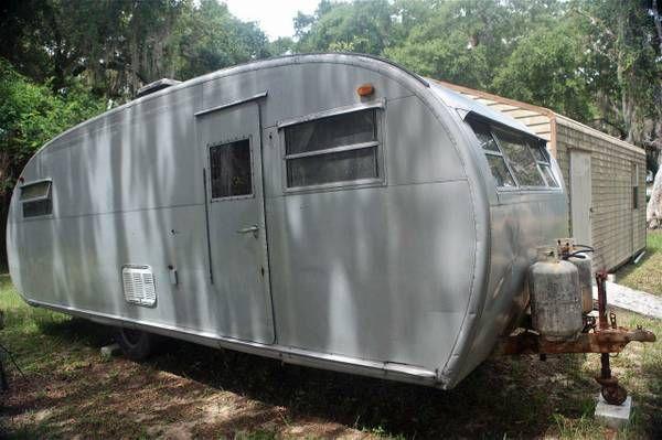 Vintage 1949 Spartanette 24 Trailer Camper 4500 Live