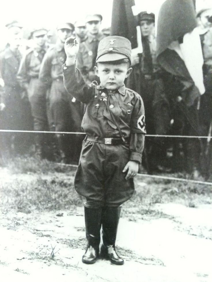 A young boy wearing an SA uniform - Berlin c.1934