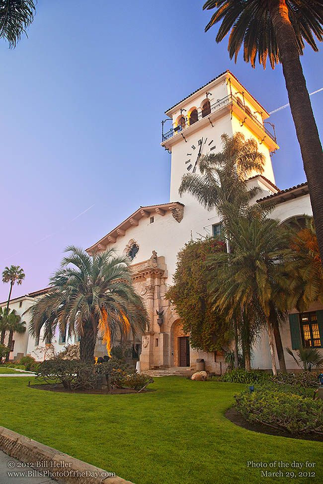 Santa Barbara Courthouse - where we got married :)