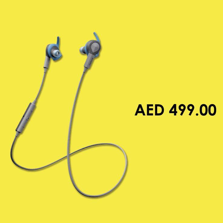 Jabra Sport Coach Wireless Earbud Headset, Blue #Earbuds #Headsets #headphones #online #shopping #earphones#menakart #Jabra