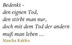 Mascha Kaleko Gedichte Bilder - Google-Suche