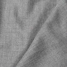 Large Solid Wool Scarf - Mid Grey