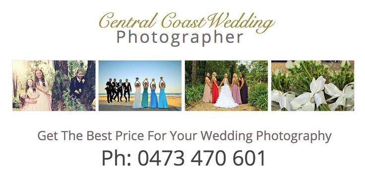 Cheap Wedding Photographer on the Central Coast Of Nsw