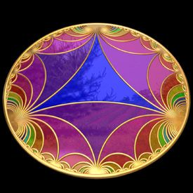 Hyperbolic Geometry Artwork
