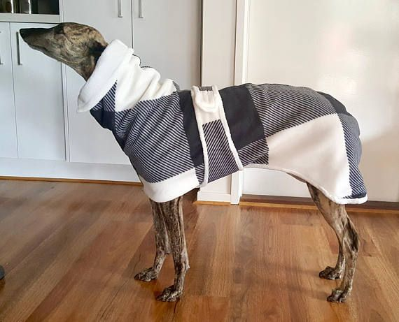 Greyhound and Whipet Winter Jackets  Large Size