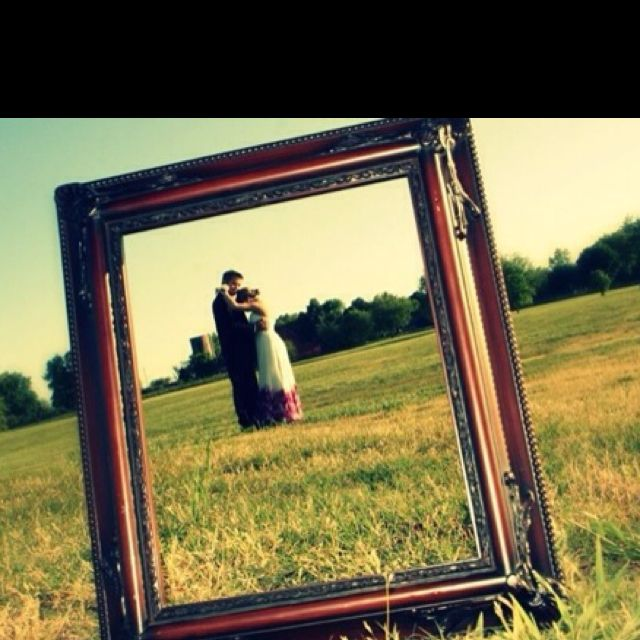 #Prom2013 picture idea <3 the frame