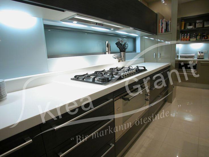 DuPont™ Corian ® Mutfak Tezgahı   KREA GRANİT www.kreagranit.com.tr