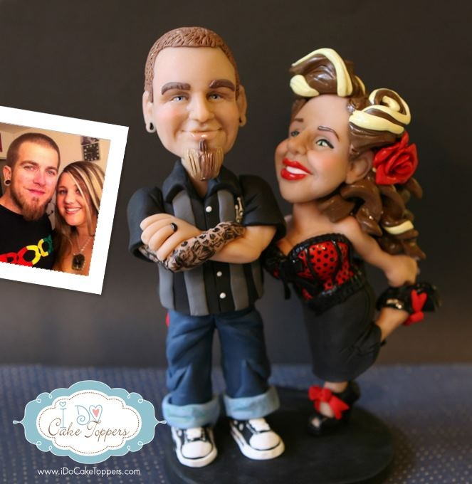 74 best Wedding Cake Toppers sculptures by Christina Patterson