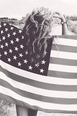 For the 4th of July - I'd wanna do an American flag photoshoot!
