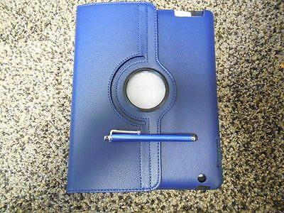 One Case (10) NEW UNOPENED  IPAD 2/3/4 CASE CINE..OR APPLE IPAD2 3 4 (D BLUE)