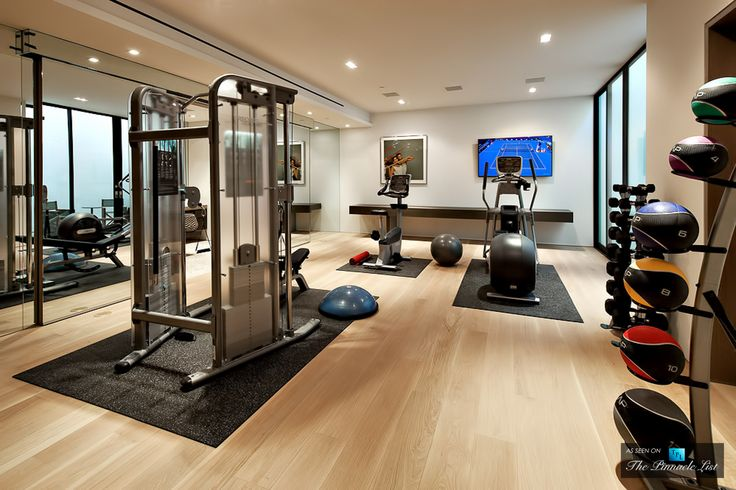Best home gyms images on pinterest exercise rooms