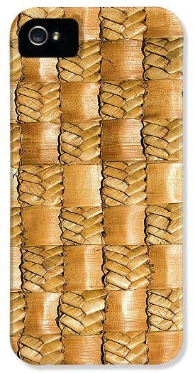 Flax IPhone 5 / 5s Case featuring the photograph Weaving Flax - Gold by Wairua o te Moana