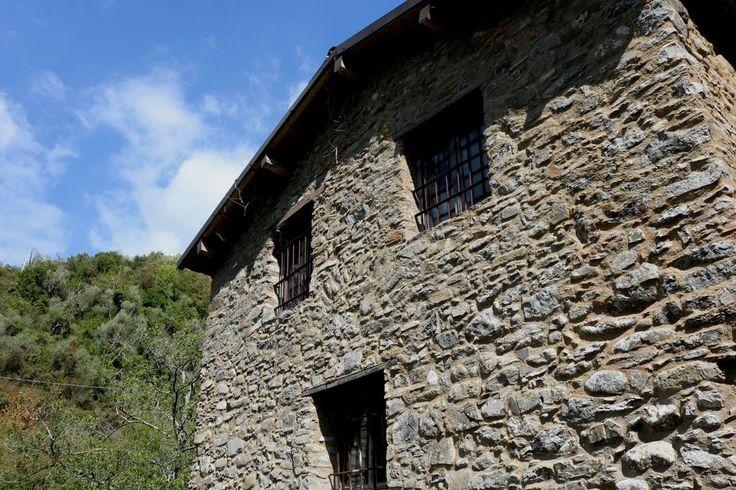 Castelvittorio (IM) - zona della Cappella della Madonna del Ponte