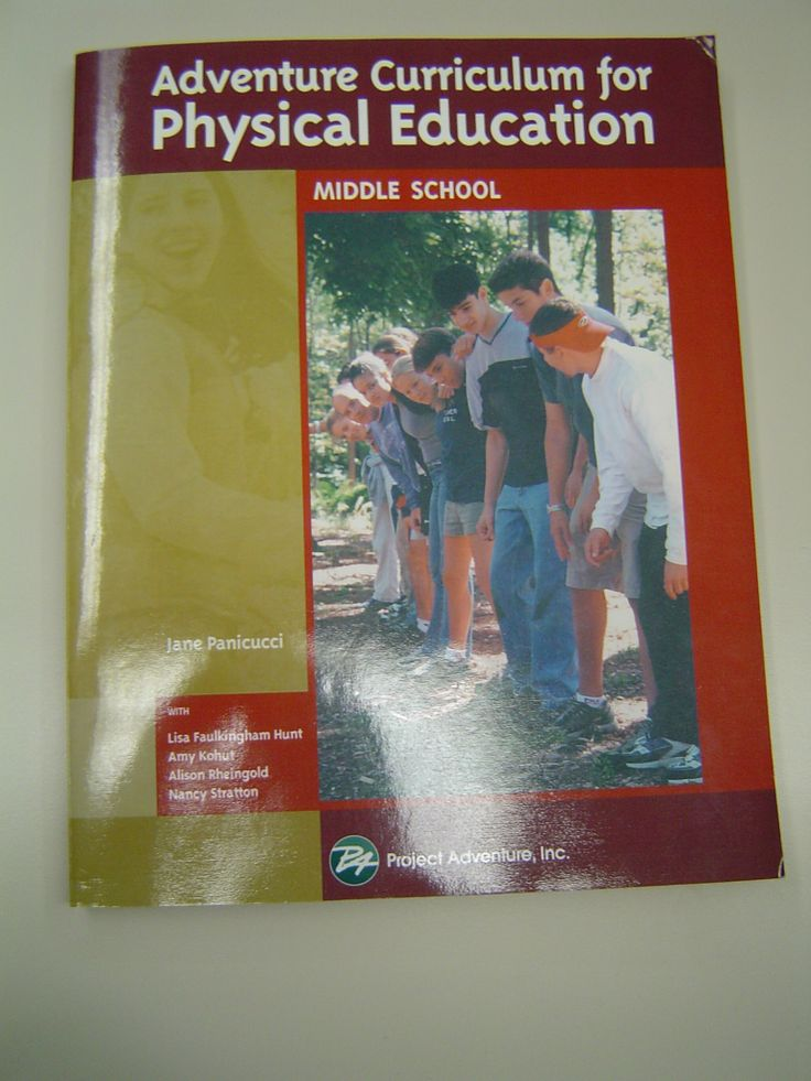 Adventure Curriculum for Physical Education Middle School by Jane Panicucci, Lis…