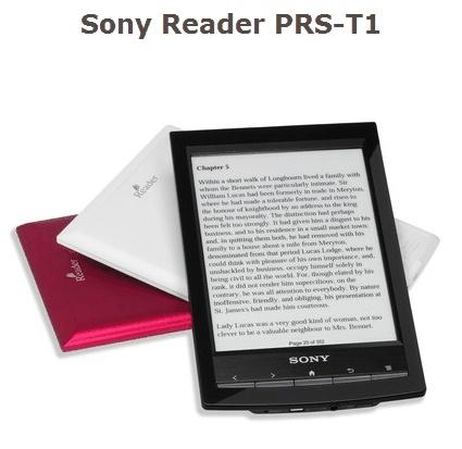 Mon choix de top liseuses début 2012. En 1re position, la Sony PRS-T1 : http://www.lesnumeriques.com/ebook/sony-reader-prs-t1-p12289/test.html