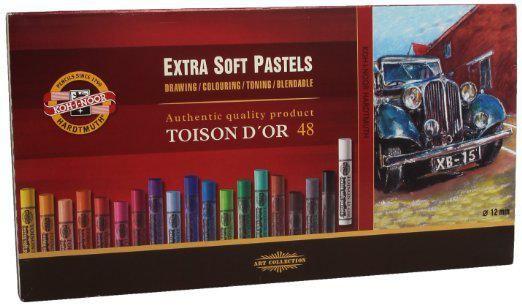 Koh-i-Noor Pastele Toison D'OR Extra miękkie 48 kol