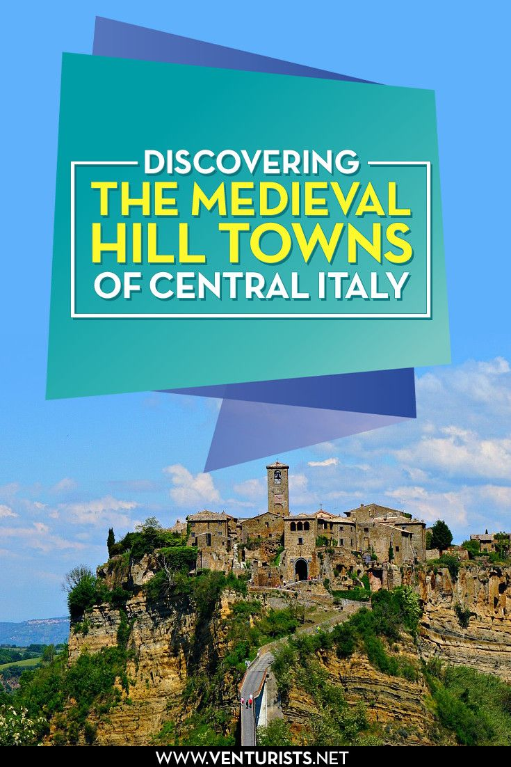 Discovering the hill towns of Viterbo Italy