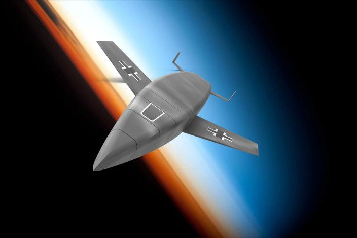 Silbervogel sub-orbital bomber