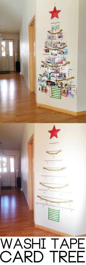 This is the best contemporary Christmas tree idea EVERRRRR! Love it!