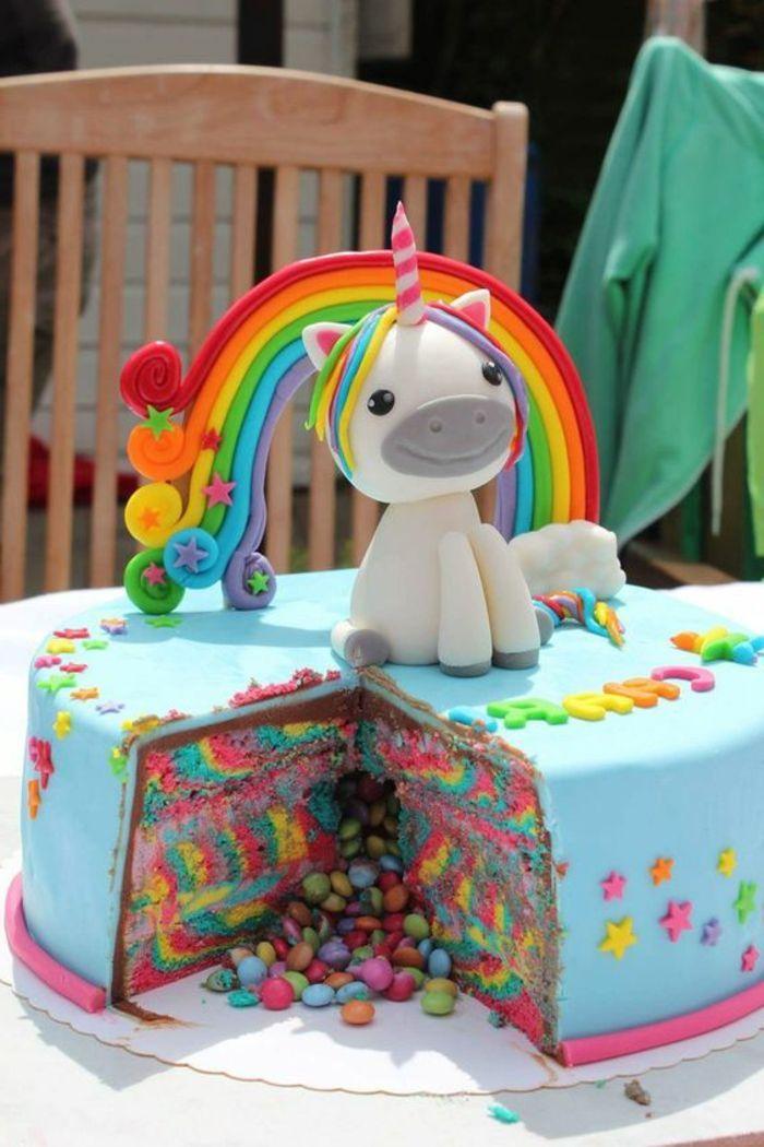 1001 Ideen Fur Einzigartige Einhorn Kuchen Und Torten With Images Unicorn Birthday Unicorn Cake Unicorn Birthday Parties