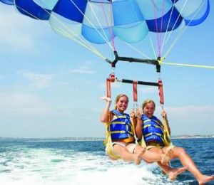 Parasailing in Freeport. $70/person