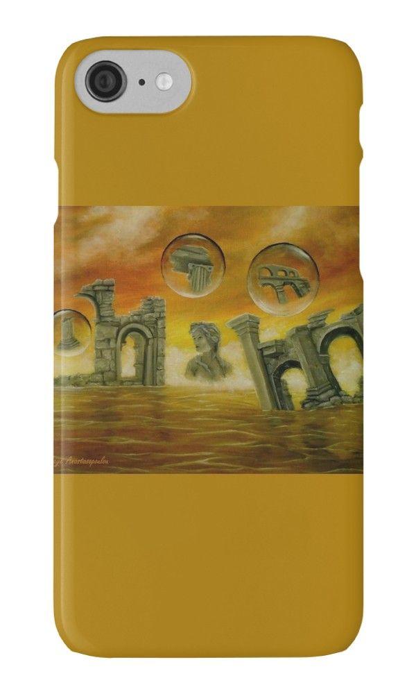IPhone Case,   temples,monuments,orange,golden,colorful,impressive,fantasy,cool,beautiful,unique,trendy,artistic,unusual,accessories,for sale,design,items,products,ideas,redbubble