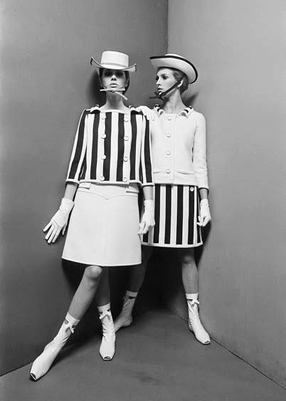 André Courrèges – Master of Mod. Again this space look of the 1960s was prominent in its mini skirts, white mid-calf go-go boots, and cropped jackets. this unleashed the being of the silloheutte, displaying legs to new heights.
