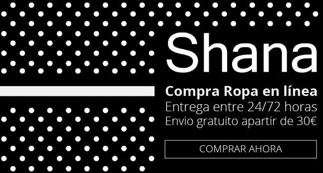 Shana es tu tienda de ropa online barata, con una gran variedad de zapatos online, vestidos baratos, lencería online y toda la moda hombre que necesites.