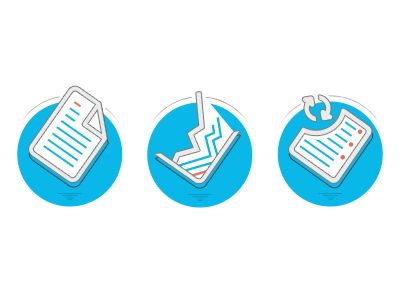 Paperwork Icons by Roman Gordienko